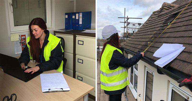 Roofing RSO becomes site Manager